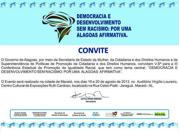 Convite III COEPIR - 19 e 20 Agosto
