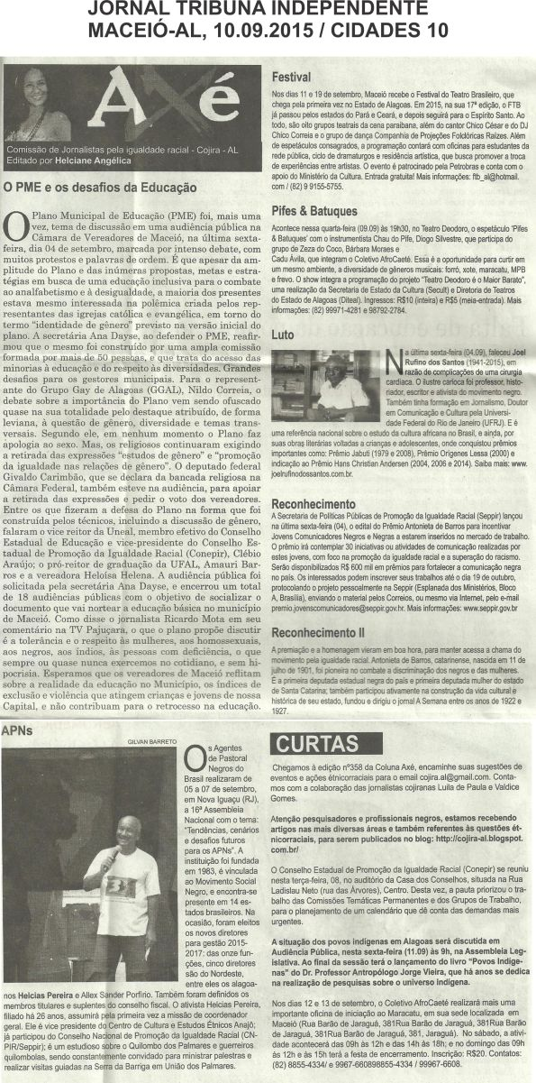 COLUNA AXÉ - 10.09.15 - DIVULGAÇÃO APNS