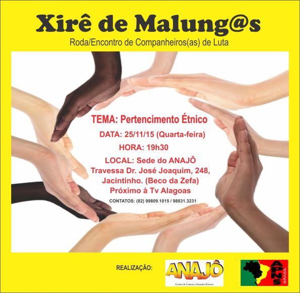 convite - Xirê de Malung@s - sede